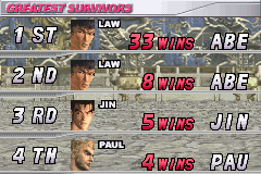 Tekken Advance - beat that - User Screenshot